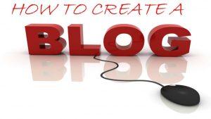 Pasi pentru a crea blog