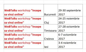 program workshop incepe sa vinzi online